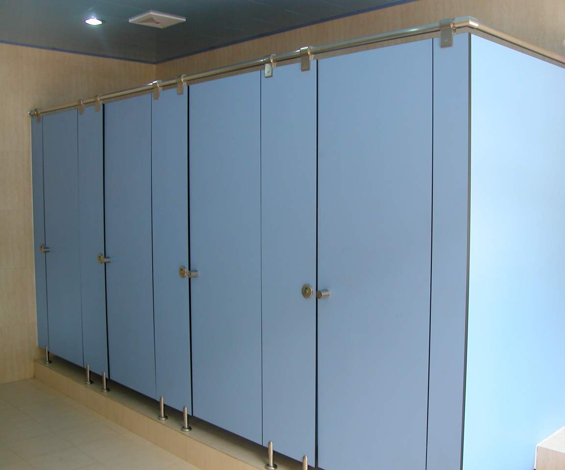 HPL - Toilet cubicles, Lockers, Benches & IPS Paneling