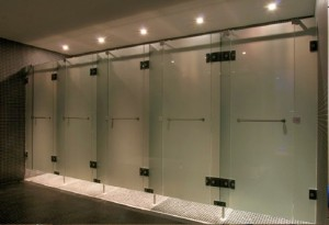 GLASS CUBICLE 4